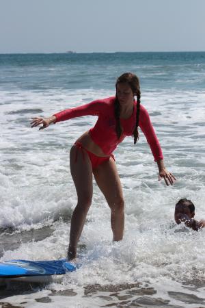Playa Grande, Costa Rica: Great posture