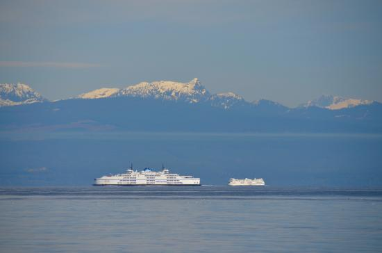 Gabriola Island, Canada: BC ferries heading to Duke Point and Departure Bay in Nanaimo