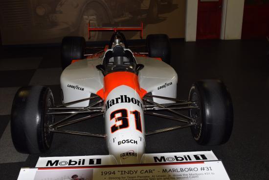 replica of al sr s last indy 500 car picture of unser racing rh tripadvisor com