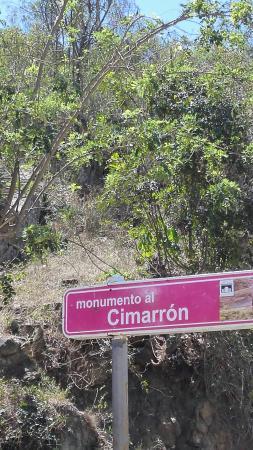 Bellissima veduta dal Cimarron