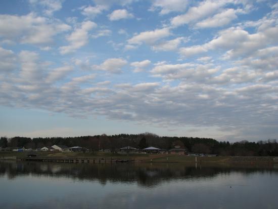 Lake Fairfax Park: Lake view