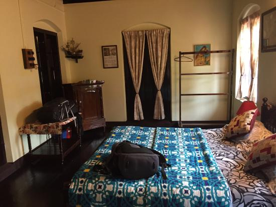 The Bungalow Heritage Homestay: The spacious and comfortable rooms with AC and free wifi.
