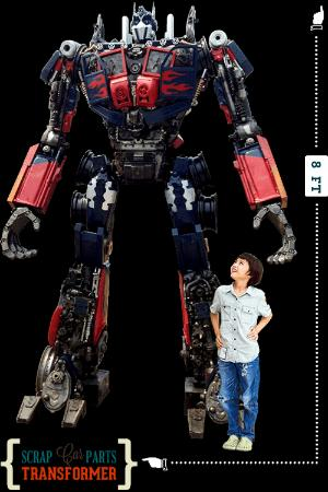 Ripley's Believe It or Not!: Optimus at Believe it or Not