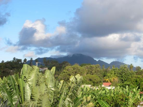 Calibishie, Dominica: View from the top floor suite