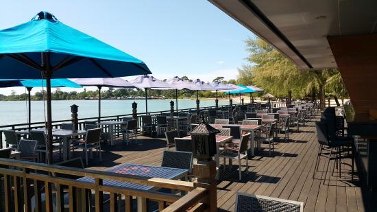 Sokha Beach Resort: Le Deck Restaurant