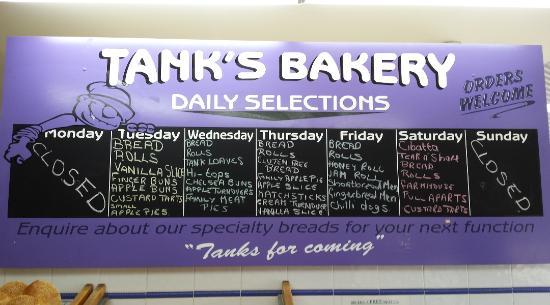 Tank's Bakery