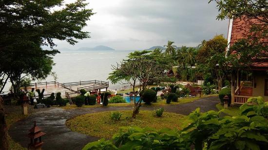Laem Set, Tajlandia: มาเที่ยวเจอมรสุมเข้าพอดี ถ้าวันฟ้าโปร่ง คงได้ภาพที่สวยกว่านี้