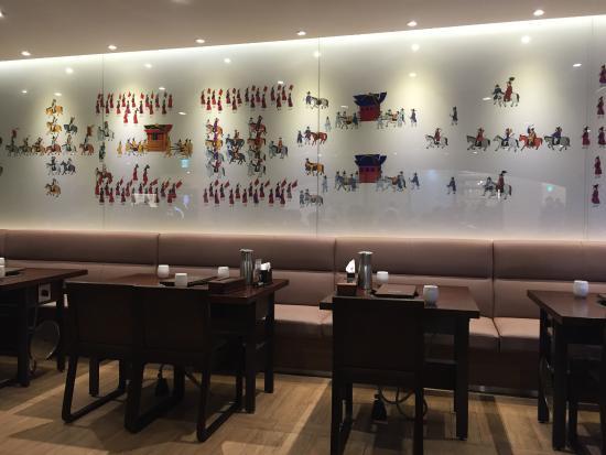 Hanwoori Korean Restaurant: Hanwoori interior