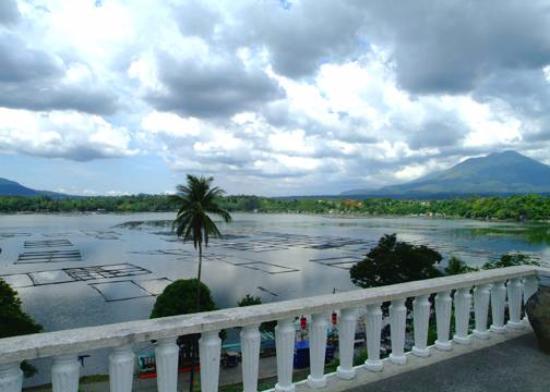 Sampaloc Lake: View from the Top of Sampalok Lake, San Pablo City Laguna