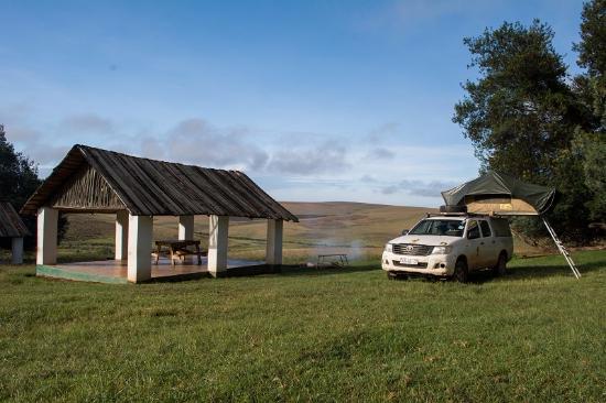 Nyika National Park, Malaui: Campsite