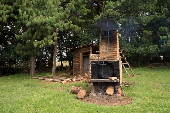 Nyika National Park, Μαλάουι: Wood fired boiler