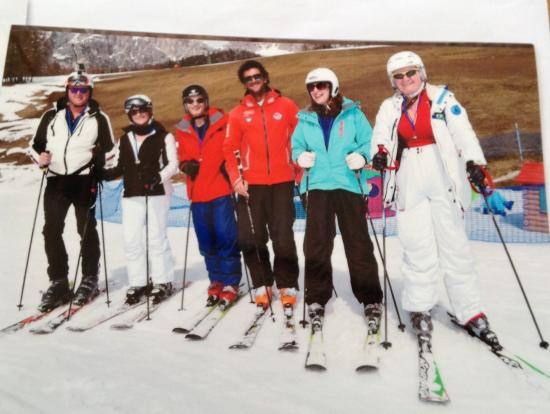 Scuola sci e snowboard Be Free Cortina: Thank out Marco fir your expertise it was amazing .  Made some great friends .