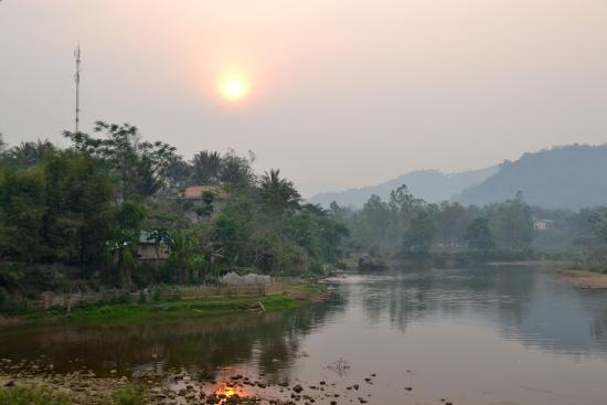 Muang La, Laos: Sunset