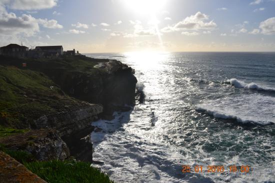 Sintra, Portugalia: вид в другую сторону