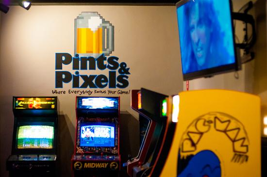 Huntsville, AL: Classic arcade games and pinball machines