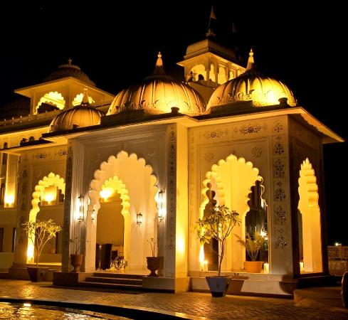 Radisson Blu Udaipur Palace Resort & Spa: The Grand Entry Gate to the Hotel