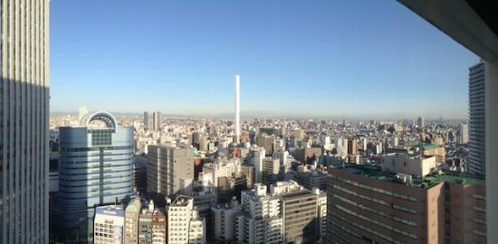 窓からの景色(朝)