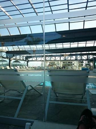 Indoor Heated Pool Picture Of Atlantica Bay Hotel