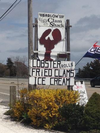 Buzzards Bay, MA: Roadside sign