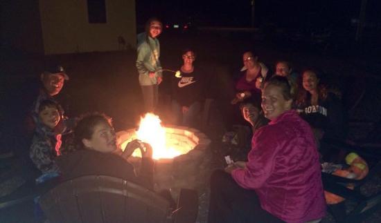Saco, ME: Bonfire pit