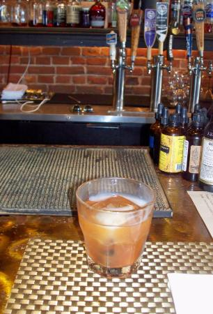 The Bahr smoked bourbon.. delish !