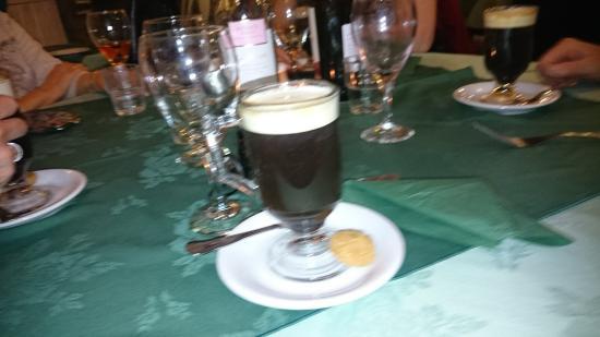 Valentino Ristorante & Pizzeria: Irish Coffee