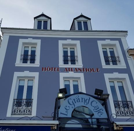 hotel atlantique le palais restaurant bewertungen. Black Bedroom Furniture Sets. Home Design Ideas