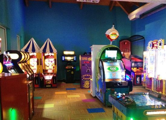 Watervliet, MI: Too much water fun, then take a break and play in the radical Rip Curl Arcade with over thirty g