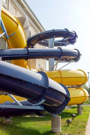 Watervliet, MI: Choose one of your thrill slides either body or tube