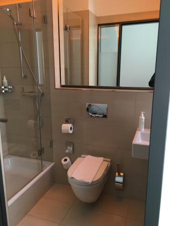 The Pure: Bathroom on a single room