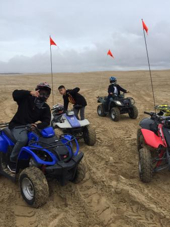 Grover Beach, CA: Great for first time riding with the fam!
