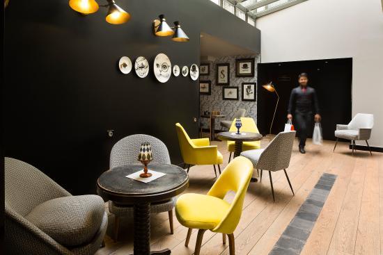 Hotel Eugene en Ville: Lobby Bar