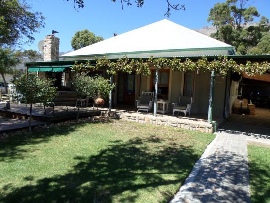Gordon's Bay, Republika Południowej Afryki: Front of the House