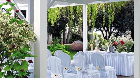 Atlantica Oasis Hotel Wedding Venue Gardens
