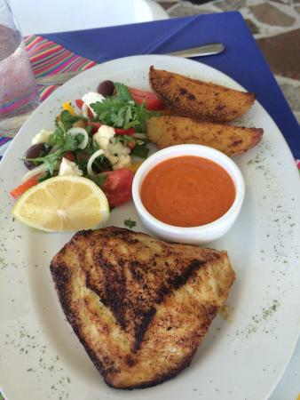 The Greek Restaurant and Wine Bar: Butterfish special!