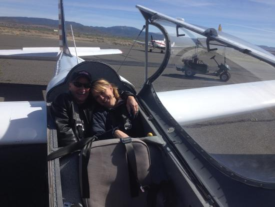 SoaringNV: Dad and Daughter Glider Ride
