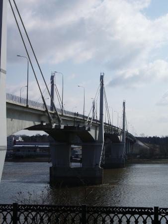 Kimry, Rusia: Мост в Кимрах