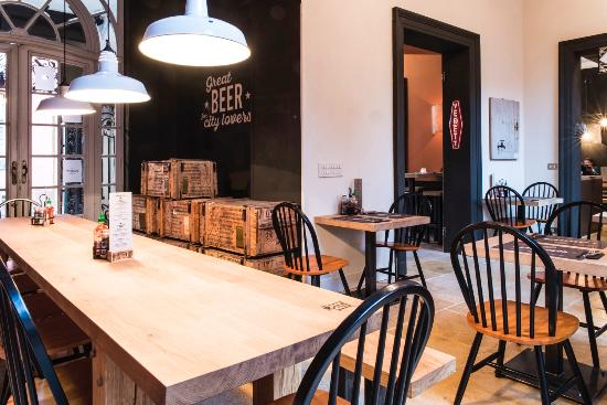 jilles beer burgers sfeer in interieur