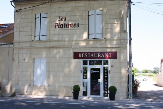 restaurant  a Pomerol   le seul  !!!!