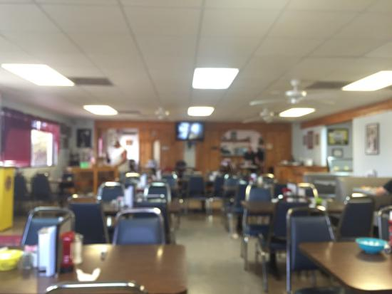 A great old fashioned diner style restaurant.