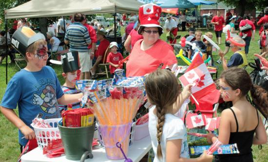 Long Sault, Canada: Canada Day in Ault Park
