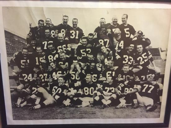 Richland Center, WI: Coolest photo of the 1962 World Champion Packers!