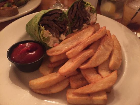 Leonardtown, MD: flank steak wrap- WOW!