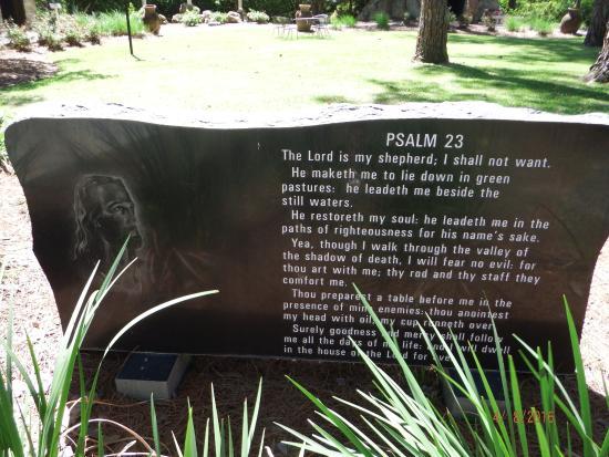 Metter, GA: PSALM 23