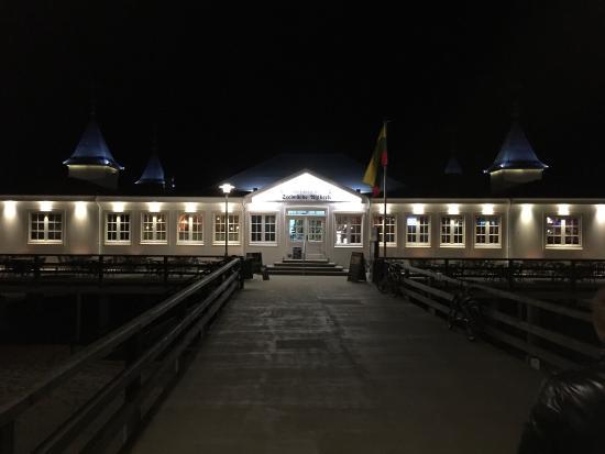 Die Kogge Kneipe & Bar auf der Seebruecke Ahlbeck