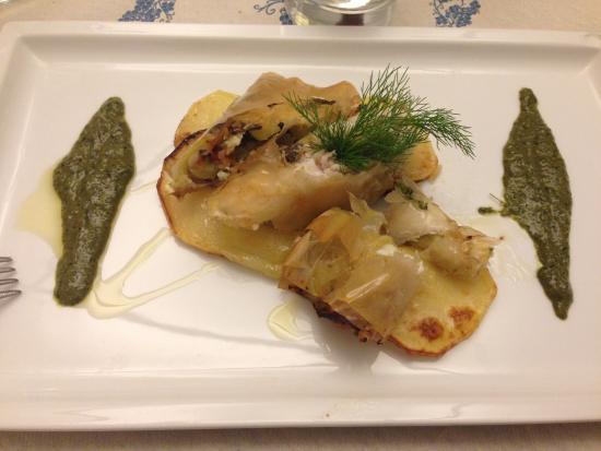 orata al forno - foto di officina di cucina, genova - tripadvisor - Officina Di Cucina Genova