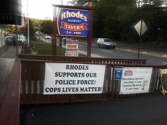Sloatsburg, NY: Civic duty a la Rhodes