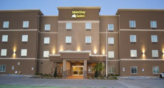 hotel entrance picture of mainstay suites midland tripadvisor rh tripadvisor com