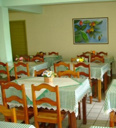 Hotel Costa Verde: salão do café