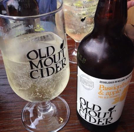 """""""Old Mout"""" cider enjoyed care of their monthly email offer."""